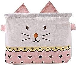 Dirty Clothes Storage Bucket Cat Laundry Basket Cloth Storage Basket Foldable Storage Box Printed Storage Box for Storage ...