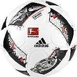 adidas Dfl Torfabrik Training Liga Fuball, White/Black/Solar Red, 5