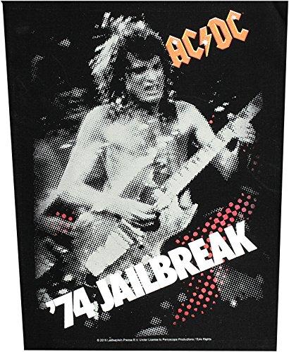 AC/DC dos Badges '74 jailbreak Back Patch écusson