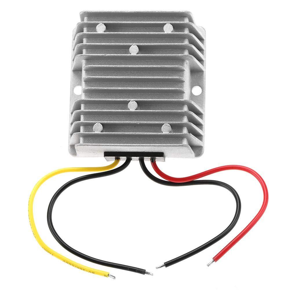 Waterproof Power Converter, 12V to 24V 5A Step Up Voltage Converter Regulator Transformer Power for Car, Waterproof Step Up Voltage Regulator