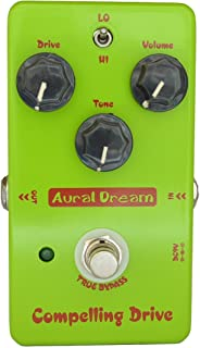 Aural Dream Compelling Drive Guitar Pedal with High-Gain and Boosting 2 modes heavy Overdrive,True Bypass
