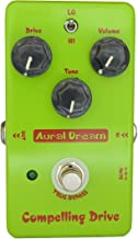 Aural Dream Compelling Drive High-Gain Blues Boosting 2 models Overdrive Guitar Effects Pedal True Bypass