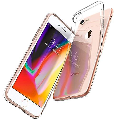 c017aac5e5d spigen Funda iPhone 8/ Funda iPhone 7, [Liquid Crystal] Flexible TPU,