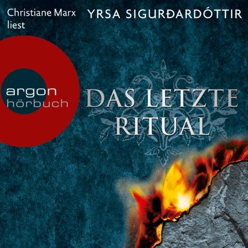 Das letzte Ritual (Dóra Guðmundsdóttir 1) cover art
