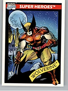 1990 Impel Marvel Universe NonSport Trading Card #10 Wolverine