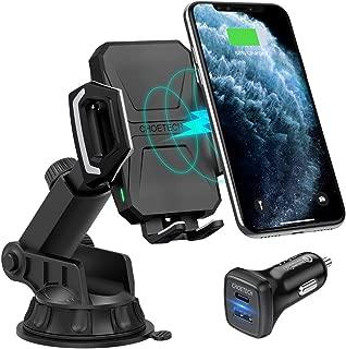 Wireless Charger Auto L/üftung Kfz Induktive Ladestation Galaxy Note 9//S9//S8//Note 8 und andere Qi-f/ähige Handys CHOETECH Qi Auto Handyhalterung Schnellladeger/ät f/ür iPhone XR//XS//XS Max//X//8//8Plus