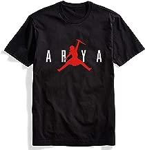Women's Not Today Shirt GOT Arya Stark Shirt The Game TV Series Thrones Merchandise Funny T Shirts Graphic Tees Tshirts