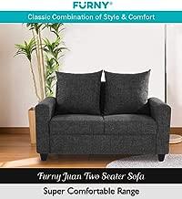 Furny Juan Two Seater Sofa (Dark Grey)