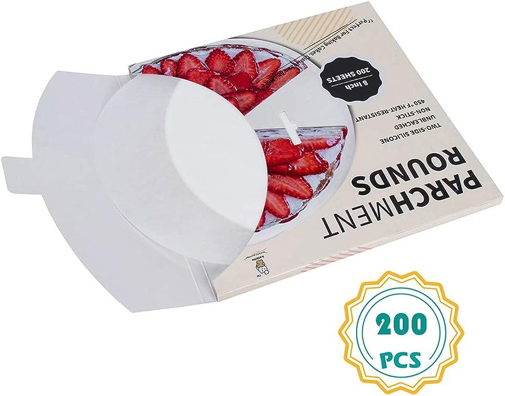 Parchment Paper Rounds 200 8 Inch 6 8 9 10 12 Parchment Circles Cake Pan Liners