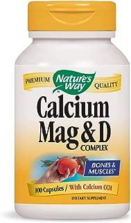Nature's Way 钙片 镁和维生素D 100片