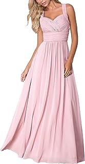 Aofur Womens Evening Wedding Long Dresses Summer Sleeveless Casual Maxi Dress Plus Size