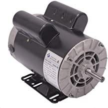 5 HP SPL 3450RPM Electric Air Compressor Motor Single Phase 56 Frame 5/8