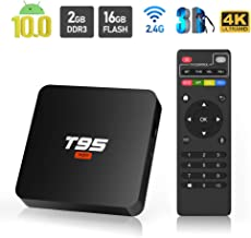 Android 10.0 TV Box, Sidiwen T95 Super Android Box Allwinner H3 Quad-Core 2 Go RAM 16 Go..