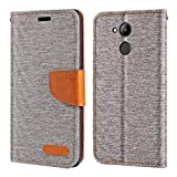 Huawei Honor 6C Pro Case, Oxford Leather Wallet Case with