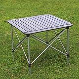smzzz Campingtisch Klapptisch Aluminium Reisetisch Falttisch Gartentisch klappbar Tisch für Camping Outdoor Picknick BBQ