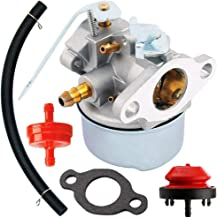 QAZAKY Carburetor Replacement for Tecumseh 632552 632557 632560 632641 640086 640086A 640092 640092A 640098 640311 HSK600 HSK635 TH098SA 3HP 3.25HP 3.5HP 3.75HP Snowblower Toro CCR Powerlite CCR1000