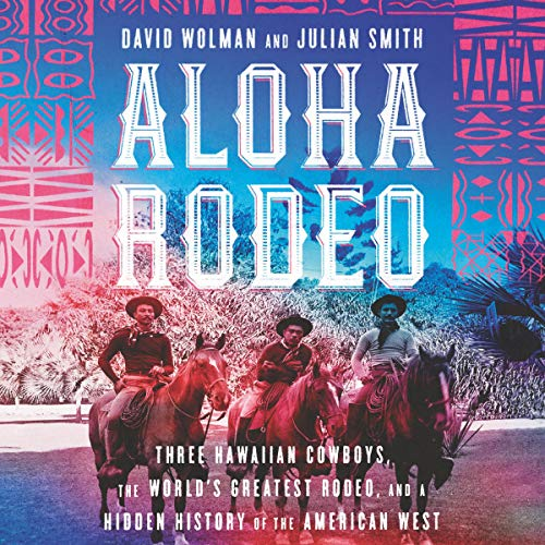 Aloha Rodeo audiobook cover art