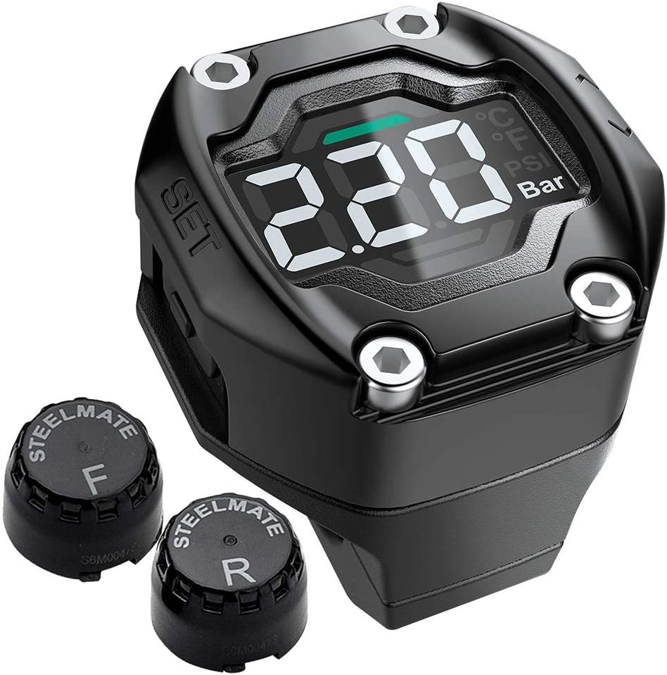 free STEEL trust MATE Motorcycle TPMS Tire Monitoring Pressure with System