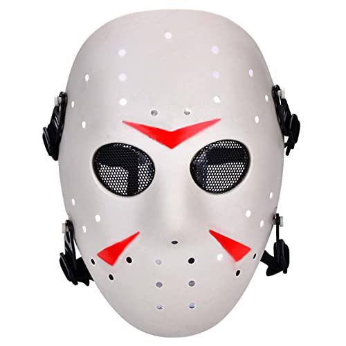 Jason Mask Face Protective Mask for Halloween Cosplay Carnival Costume Party