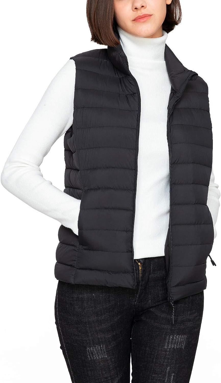 LAPASA Women's Lightweight Water-Resistant Puffer P REPREVE Max 49% OFF online shopping Vest