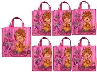 Fancy Nancy Tote Bags Set of 6 Party Favor Girl Birthday