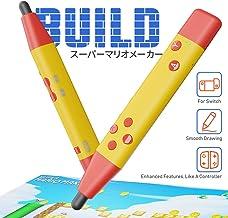 IFYOO静電容量式タッチペン ペン型SWITCH用ゲームコントローラー スーパーマリオメーカー 2、脳を鍛える大人に対応 Bluetoothワイヤレスコントローラー Nintendo Switch, Switch Liteに対応 - [黄]