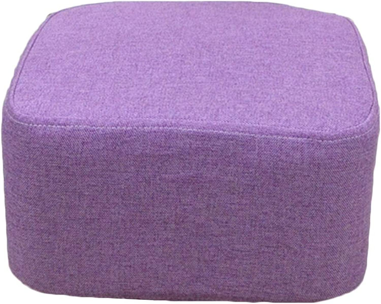 JIANFEI Footstool Sofa Stool Soft Cushion No Deformation, 10 colors (color   I)