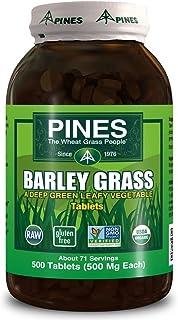 Barley Grass 500 Milligrams 500 Tabs
