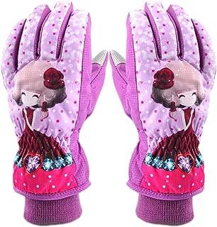 AiLike Waterproof Ski Gloves Winter Warm Snow Glove for Children Kids Boys Girls
