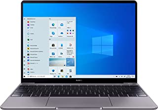 HUAWEI MateBook 13 2020 ノートパソコン 13インチ Windows 10 Home Core i7-10210U メモリ16G/SSD512G MX250搭載 指紋認証付き電源ボタン Webカメラ スペースグレー【日本正...