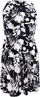 Tommy Hilfiger Womens Sleeveless Floral Party Dress