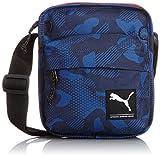 PUMA Umhängetasche Foundation Portable - Bolso para Hombre, Color Azul, Talla 16 x 20 x 4 cm
