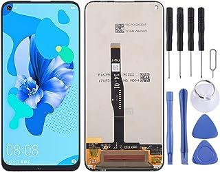 CICI: s val Skärmreparation LCD-skärm och digitizer Fullständig montering för Huawei Nova 5i (svart) (Color : Black)