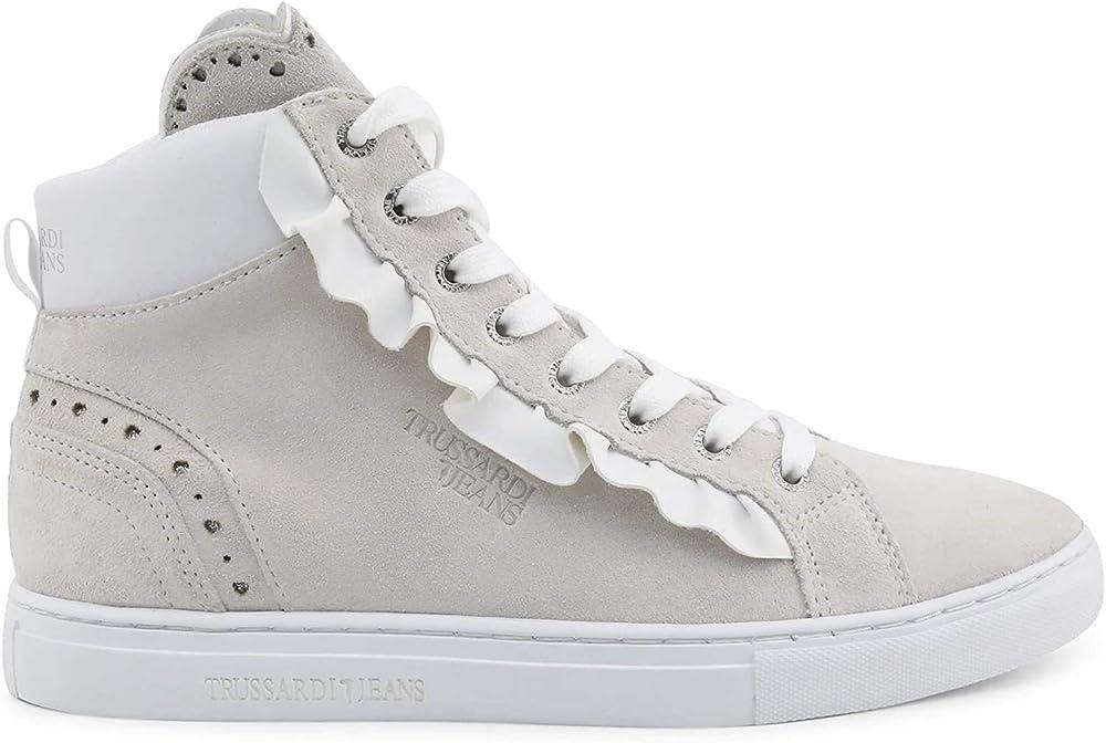 Trussardi ,sneakers per donna,in pelle scamosciata PTR145277S