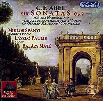 Abel: 6 Keyboard Sonatas, Op. 2