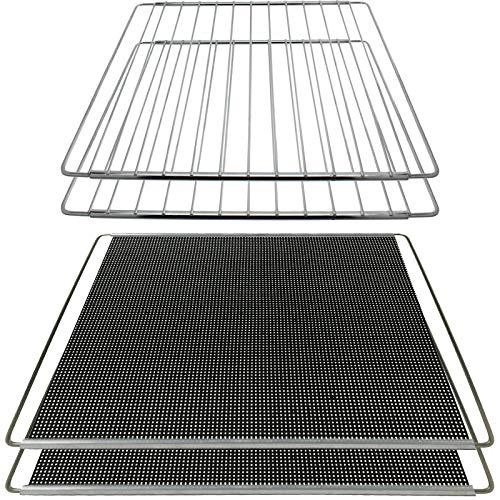 Spares2go Plaque de cuisson extensible pour plaques de cuisson 2 + 2 étagères réglables compatible avec les cuisinières LG