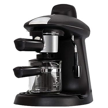 JCSW Kaffeevollautomat, kaffeemaschine, Cappuccino, Espresso und Kaffee auf Knopfdruck, kaffeemaschinen & -zubereiter, 730 Watt, 0.75 L, K003