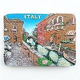 Imán de nevera 3D de Venecia Italia recuerdo para decoración del hogar y la cocina Venecia nevera imán adhesivo