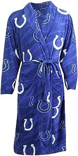 Indianapolis Colts NFL Grandstand Men's Micro Fleece Robe