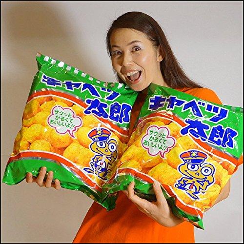 特大お菓子・駄菓子 超特大キャベツ太郎袋 W42cm 3袋 23956