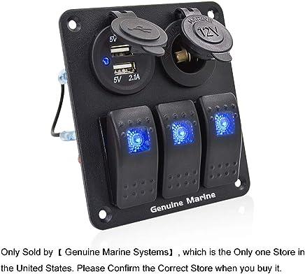 Sports & Outdoors Keenso Waterproof Car Marine Rocker Switch