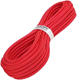 Kanirope PP Seil Polypropylenseil MULTIBRAID 16mm 10m Farbe Rot 0114 16x geflochten