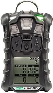 MSA Altair 4X Multigas Detector 10107602 For LEL, Oxygen, Hydrogen Sulfide And Carbon Monoxide With Motion Alert