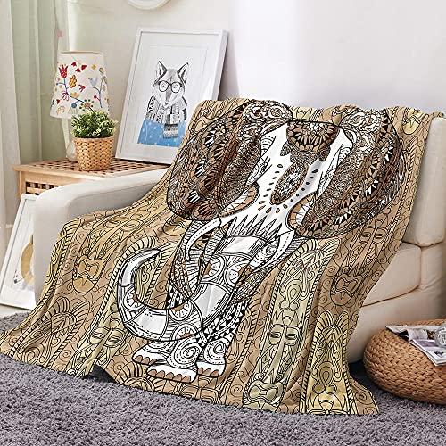 HKDGHTHJ Mantas para Sofa Baratas 130 X 150 cm clásico Amarillo Creativo...