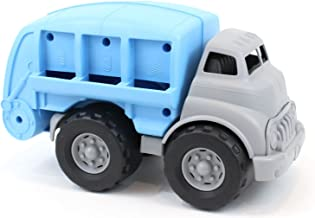 Green Toys Recycling Truck Vehicle Toy, Grey/Blue, 12