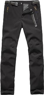 Pantalones de Montaña Hombre Pantalon Impermeable Trekking