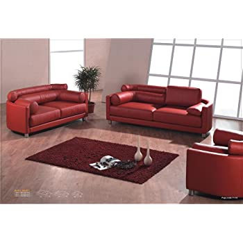 Design Voll Leder Sofa Garnitur Polstermobel Sessel 351 3 2 1 Amazon De Kuche Haushalt