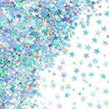1st Birthday Party Confetti Decoration – Stars Confetti are made of pvc material, shiny and cute, 60 grams in total Twinkle Stars Confetti Baby Shower Decorations – Stars measure 2 different sizes in diameters 6 mm/ 10 mm Wedding Bridal Shower Confet...