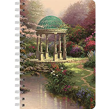 LANG - Spiral Journal -  Pools Of Serenity  - Art by Thomas Kinkade - 240 Ruled Pages - 6  x 8 1/4