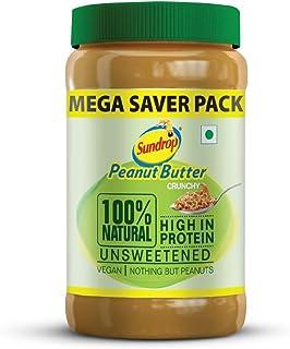 Sundrop Peanut Butter 100% Natural-Crunchy - 924g Jar